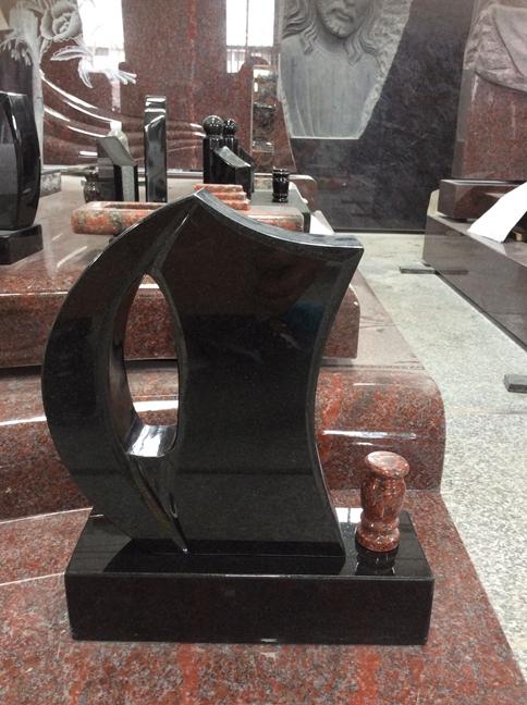 Shanxi Black Granite Headstones