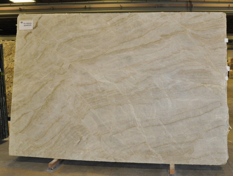 Popular Cheap Taj Mahal Granite Slab Kitchen Countertops & Background Wall  RG11