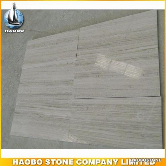 Cheap Haobo Grey Wooden Marble Flooring Tile For Salehaobo Grey