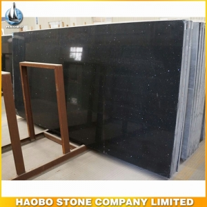 Crystal Black Quartz Big Slab