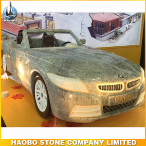 Stone Car Sculpture Craft Design