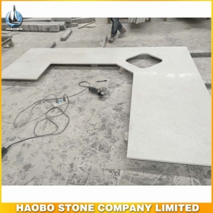 Popular Style Crystal White Countertop For Kitchen HAOBO-STONE