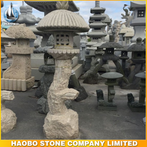 Granite Stone Lanterns For Garden Decoration