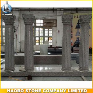 Yellow Granite Roman Columns