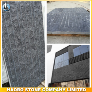 Black Basalt Culture Stone For Wall Decoration