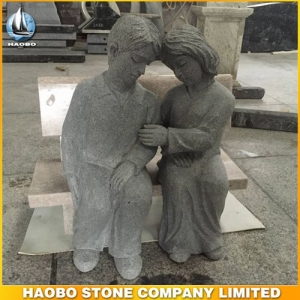 Life-Size Granite Figure Sculpture For Cemetery
