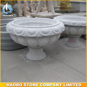 Granite Garden Bowl For Outdoor Decoration