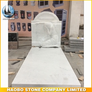 White Marble Headstones