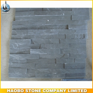 China Black Slate Cultured Stone