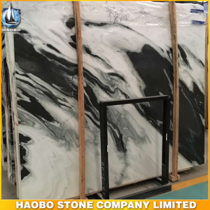China Panda White Marble Slab
