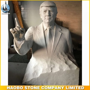 Lifelike Model Of Trump Sculpture