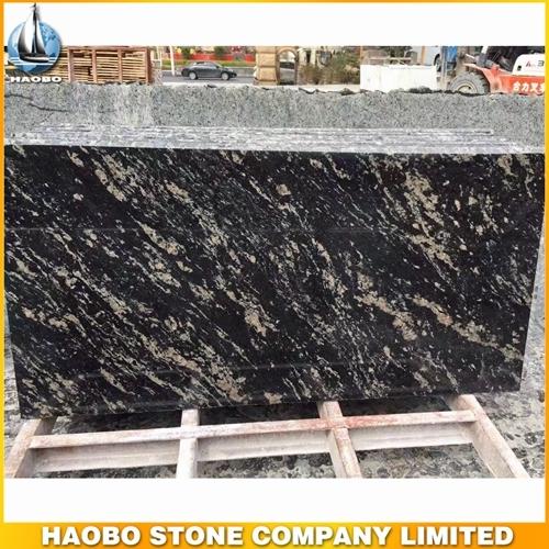 Cheap Best Black Titanium Granite Slab For Kitchen