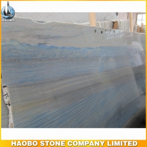 Azul Macaubas Quartzite Slab For Flooring Tile