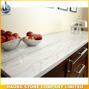 White Macaubas Quartzite For Kitchen Countertop
