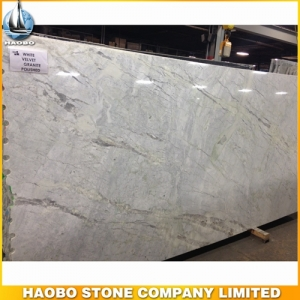White Velvet Granite Slab