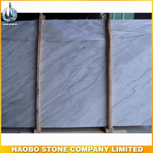 China Picasso White Marble Slab