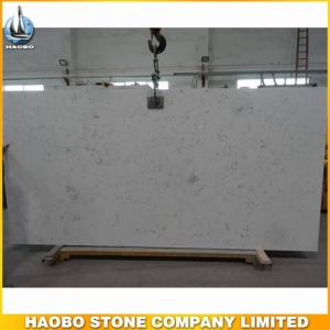 Carrara White Quartz Big Slab