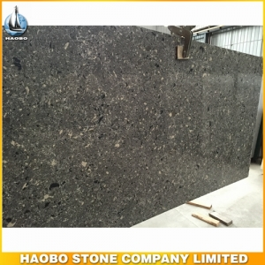 Dark Grey Quartz Slab For Kitchen Decoration