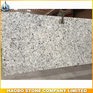 Grey & White Mixed Quartz Stone Slab