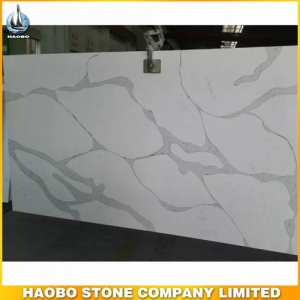 Calacatta Quartz Polished Countertop Slabs