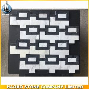 Black Marquina Marble Mosaic Tile