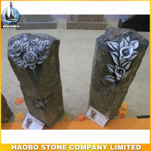 Carved Rose Basalt Monument Designs