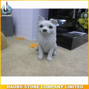 Granite Dog Sculpture For Home Decoration