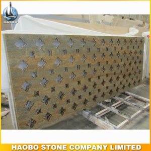 Mudura Gold Granite Screen For Decoration