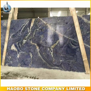 Blue Quartzite Slab With Thickness 2CM And 3CM