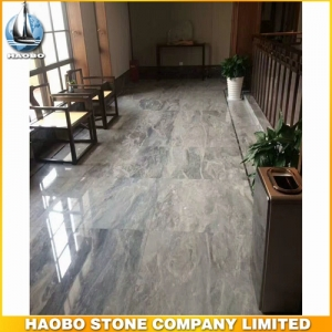 Grey Marble Tile Floor For Hall