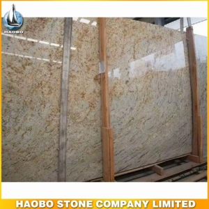 Giallo Orlando Granite Slab For Wall And Flooring