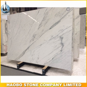Statuario Marble Slab For Interior Wall