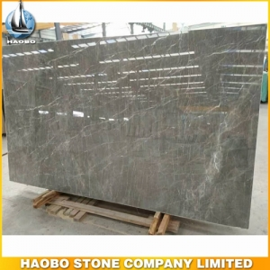 Caster Grey Marble Slab For Wall And Floor Cover
