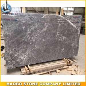 Silver Sable Marble Grey Natural Stone Slab