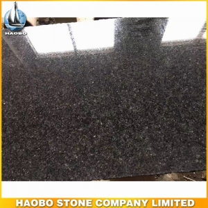 Absolute Black Granite Slab Polished For Floor