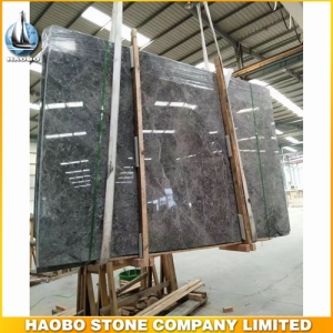 Popular China Oscar Grey Marble Slab