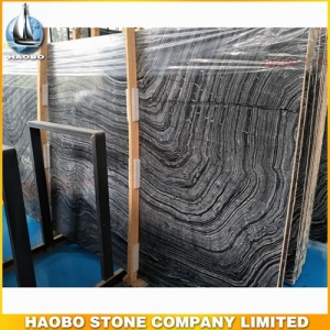 China Ancient Wood Marble Slab Polished