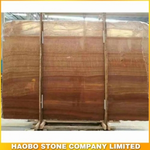 Wood Grain Yellow Marble Slab Available 2CM & 3CM