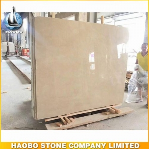 Polished Anatolia Beige Marble Slab