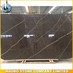 China Amani Brown Marble Slab