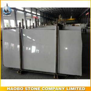 China Pure White Marble Slab