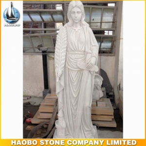 Jesus Life-Size White Marble Statue