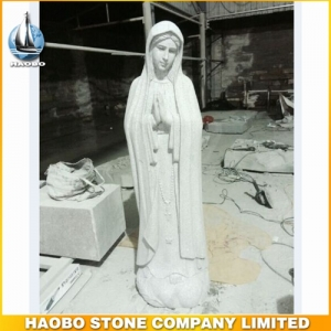 Stone Carving Mother Mary Sculpture