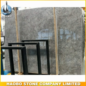 Dora Cloud Grey Marble Slab