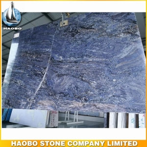 Azul Alps Blue Granite Slab Tile