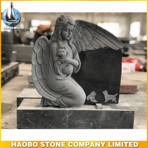 Pet Angel Memorial Granite