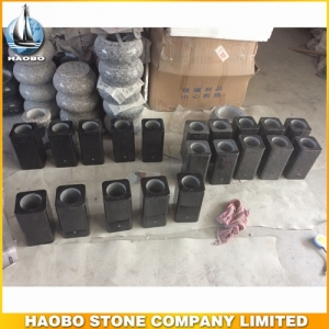 Polished Square Granite Vases