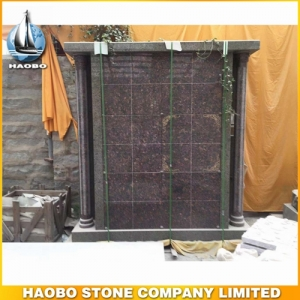 Gold Leaf Granite Columbarium For Sale
