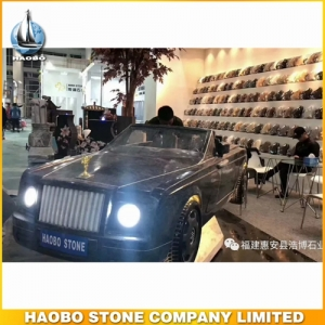 High Quality Stone Sculpture Car