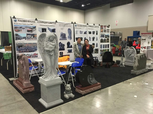Haobo stone has attended 2017 Monument Industry Show